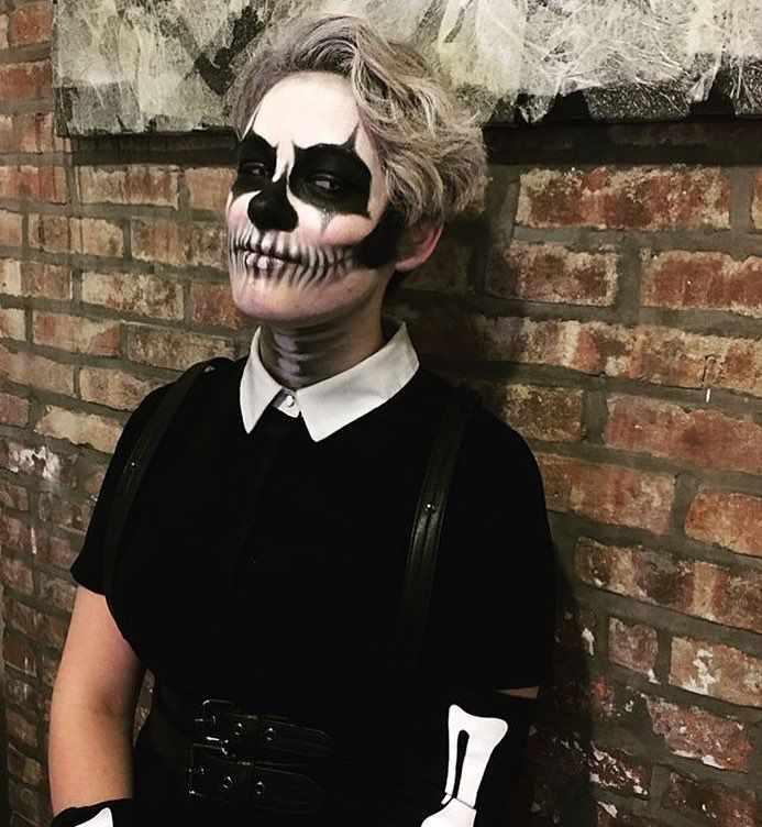 Best 25+ Halloween skeleton makeup ideas on Pinterest | Halloween ...