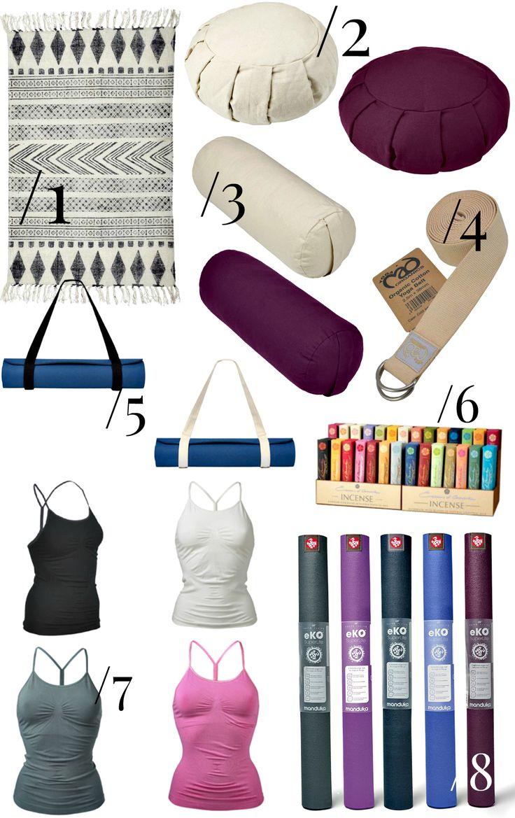 Her får du yogalærerens bedste tips. Yogaudstyr til hjemmeyoga - meditationspuder, yogapøller, yogamåtter og yogatøj. Læs mere her.
