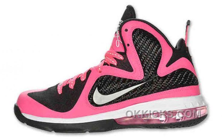 http://www.okkicks.com/online-nike-lebron-9-shoes-gs-black-laser-pink-472664-600.html ONLINE NIKE LEBRON 9 SHOES GS BLACK LASER PINK 472664 600 Only $72.94 , Free Shipping!