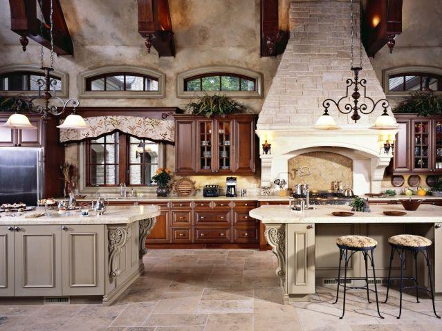 164 best elegant luxury kitchens images on pinterest for Elegant residences kitchens