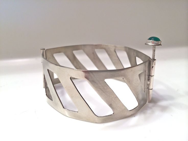 Matthew Fainor - Hinged Nickel Silver Bracelet