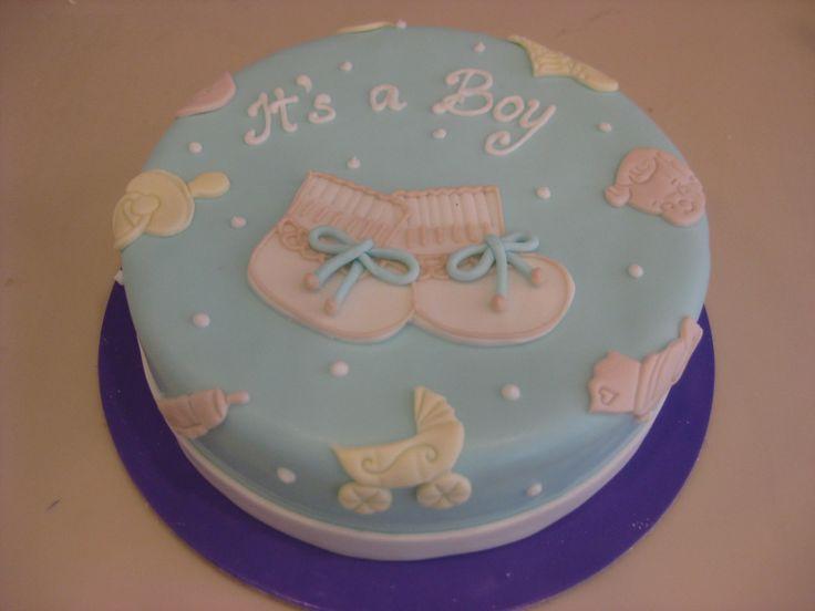 Τούρτες Γενεθλίων - It's a boy! #sugarela #TourtesGenethlion #ItsAboy #BirthdayCakes