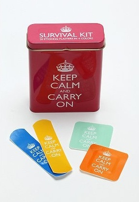 bandagesBandaid, Urban Outfitters, Gift Ideas, Survival Kits, Band Aid, Keepcalm, Keep Calm, Calm Bandage, Products