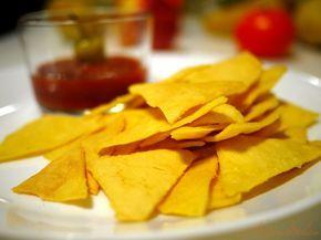 Nachos al forno - Ricetta e preparazione: cucina salutare e vegetariana - Tony's Happy Kitchen