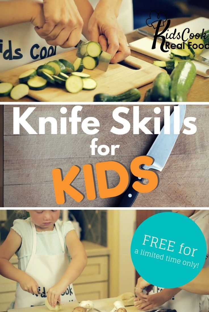 Knife Skills for kids - my 10 and 7yos use sharp knives independently and safely. We'll teach you how!