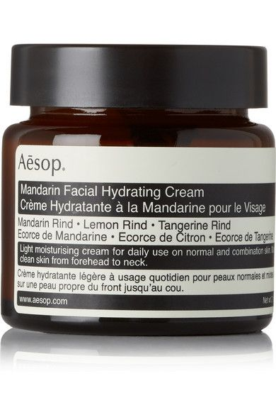 Refresh and replenish your skin with Aesop's 'Mandarin Facial Hydrating Cream.' Designed to tone and brighten, this absorbent, oil-infused formula has an invigorating citrus scent - perfect for drowsy mornings.