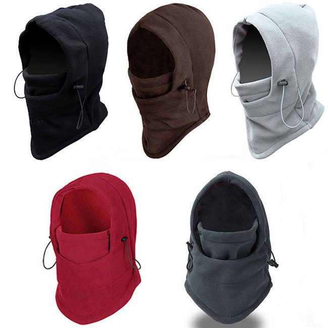 Men Women Winter Warm Neck Snood Scarf Balaclava Ski Face Beanie Hat Cap UK