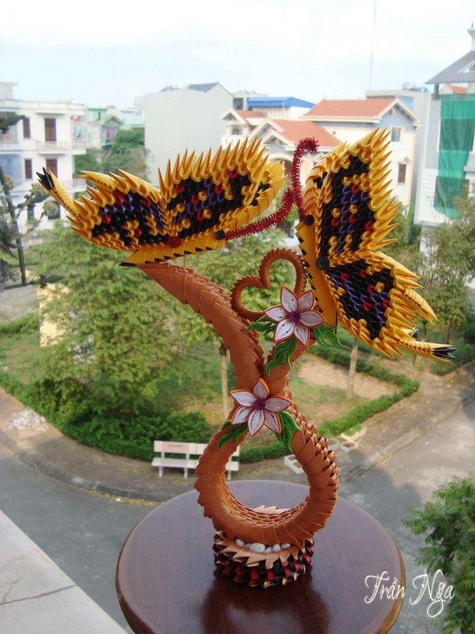 love butterfly v3.jp… | Album | Nga | 3D Origami Art