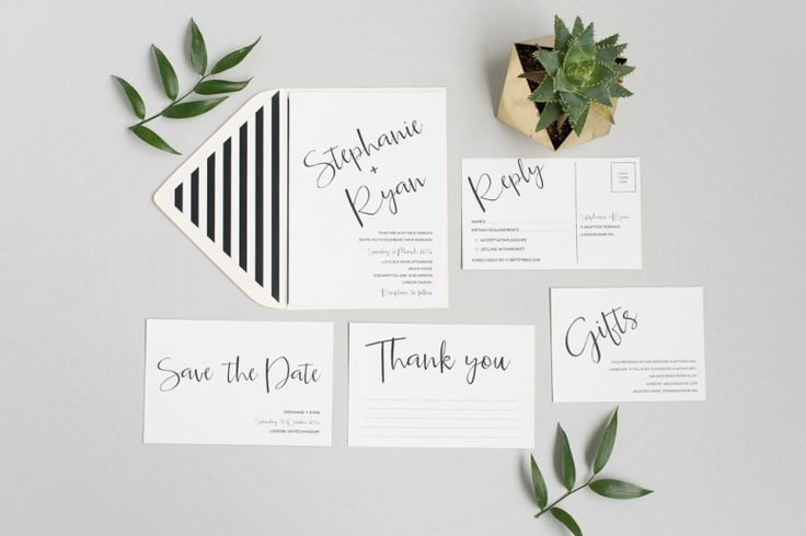Spring is officially here and that means wedding season is ramping up. I've picked out some of my favourite wedding invitations by Polka Dot Paper.