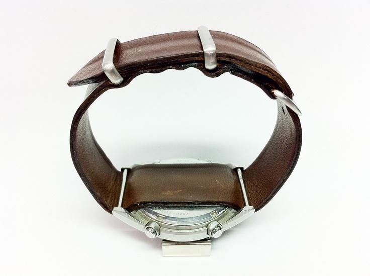 Seiko RAF homemade leather strap