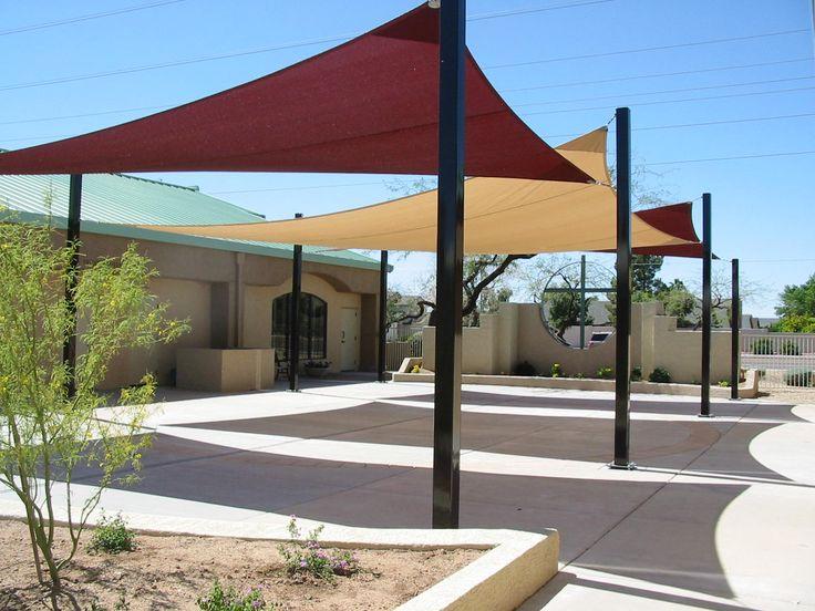 Image of Sun Shade Sail Residential Patio SUN Shade