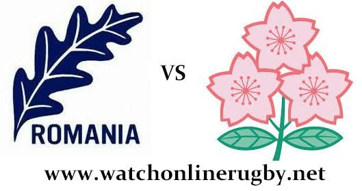 Japan vs Romania rugby live