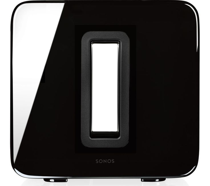 SONOS SUB Wireless Subwoofer - Black, Black on sale in the UK along with best deals on many other home entertainment systems and accessories