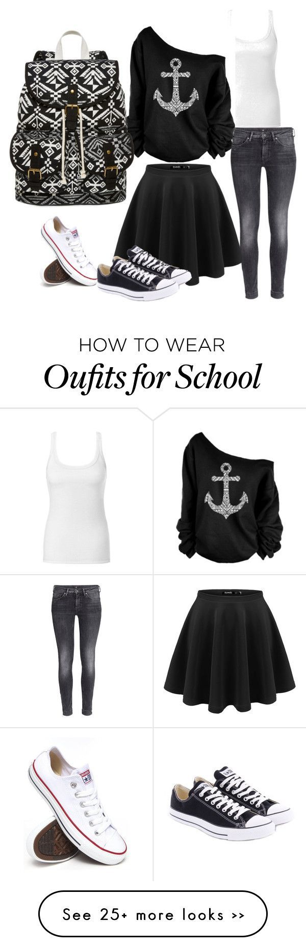 """School ideas"" by michaela535 on Polyvore"