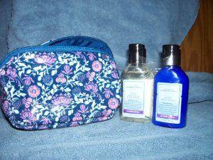 Aromatherapy Lavender Vanilla 2 Fl Oz Body Wash & Foam Bath and 2 Fl Oz Body Lotion with Bag & Mirror by Bath & Body Works. $11.25. Cute Flowered Bag With Bath Wash and Lotion with Mirror