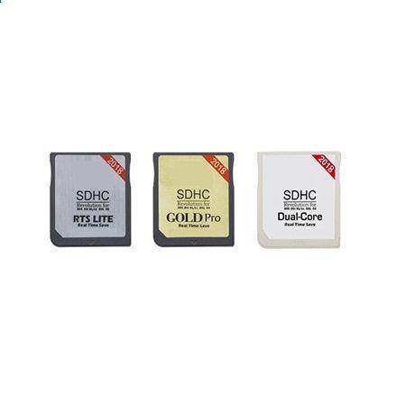 2018 Nový Gold Pro Dual Core RTS LTE s čtečkou karet pro R4 SD SDHC