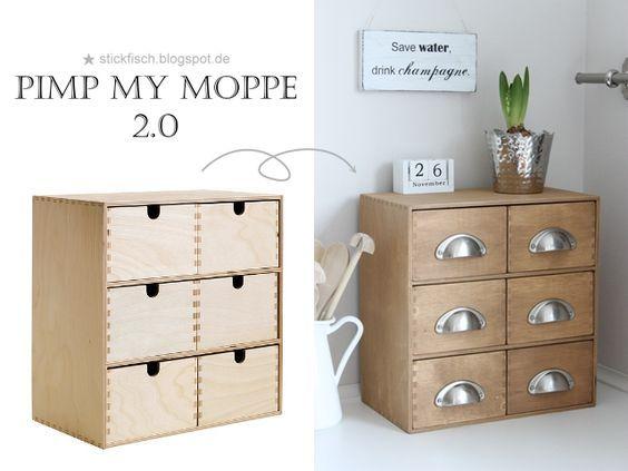 ★ nordahage - wohnen, kochen, selber machen: Pimp my MOPPE 2.0