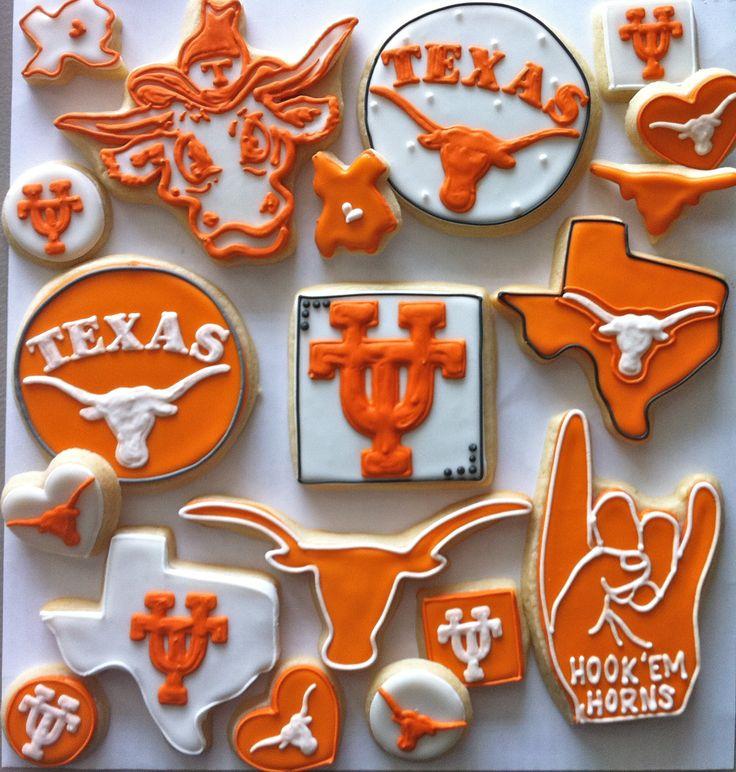 University of Texas, Hook 'Em Cookies! - HayleyCakes And Cookies