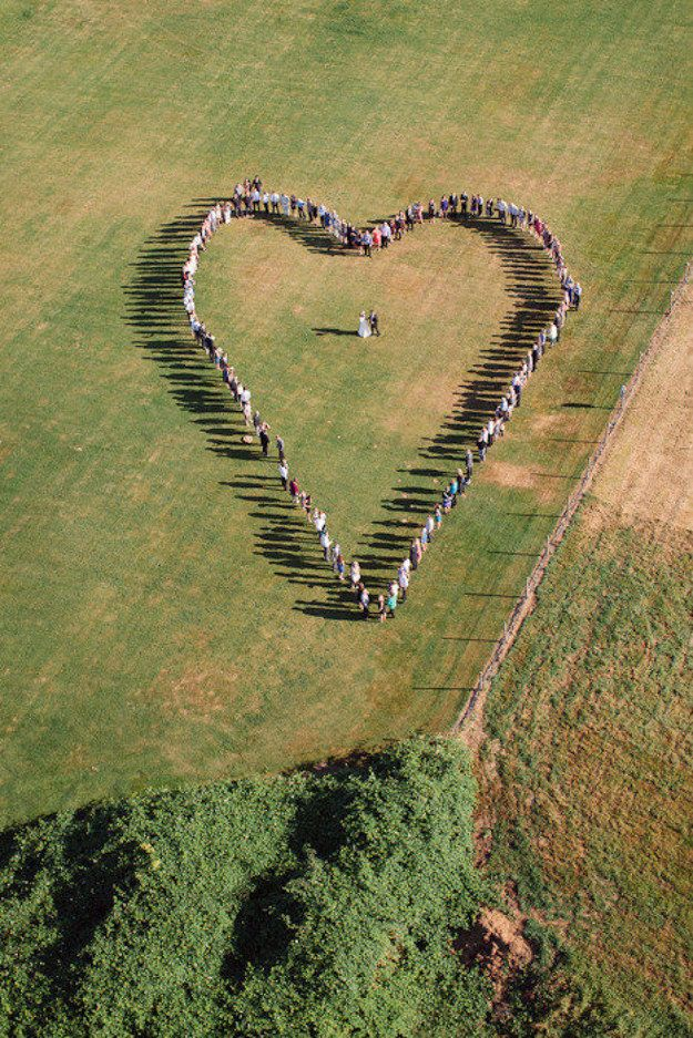 Aerial photography isn't limited to drones. | A Guide To Drone Wedding Photography