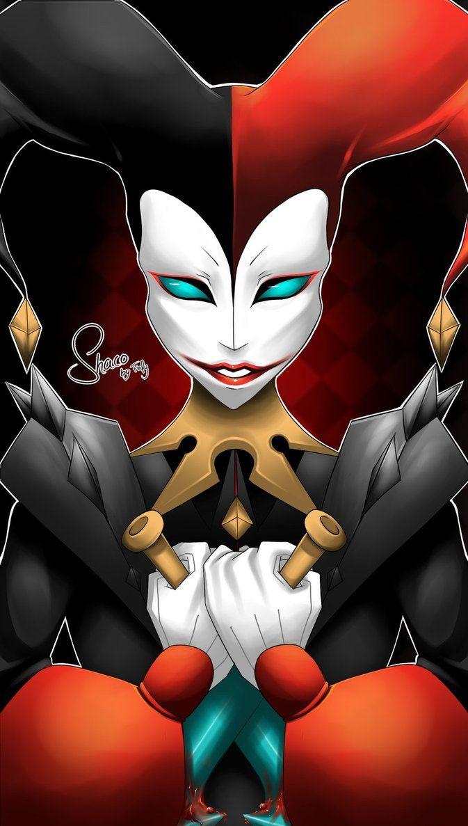 Shaco The Demon Jester By Fins Wonderland On DeviantArt