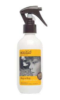 Bug a Bug Spray är ett insektsmedel från eco.kid som ger ett effektivt skydd mot insekter vid utomhusaktiviteter. Medlet passar både barn och vuxna i alla åldrar och är inte irriterande för hud eller ögon. Det innehåller mjukgörande eteriska oljor som tillför rikligt med fukt till huden vilket gör att sprayen kan appliceras flera gånger per dag. 100% naturliga ingredienser!