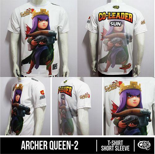 Archer Queen Sublimaion Print By. Qita design QDR Racing Online Shop(Pin BB: 32FC121F)