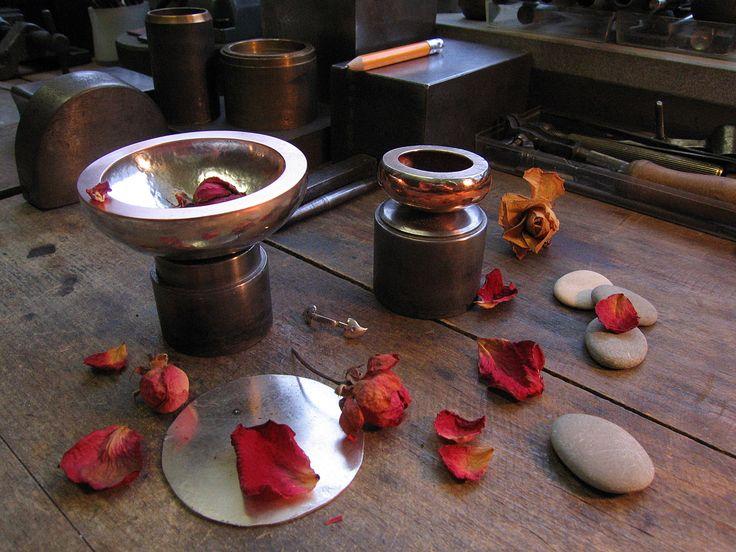 ...bowls and roses...