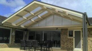 DMV pergola, verandah, patio | pavers