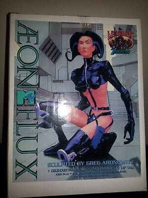 MTV Legends Aeon Flux Cold Cast Porcelain Statue Greg Aronowitz MIB