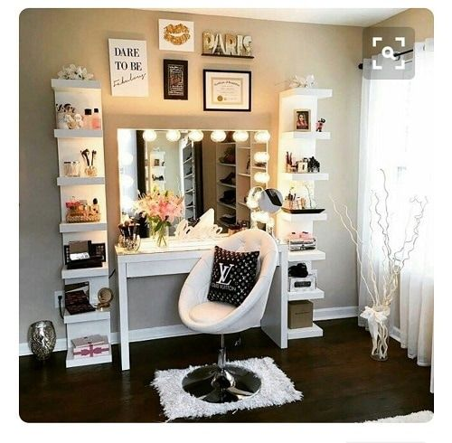 best 25+ bedroom vanity with lights ideas on pinterest | makeup