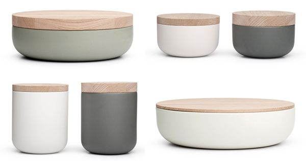 There are 2 materials I love the most, ceramic and wood.