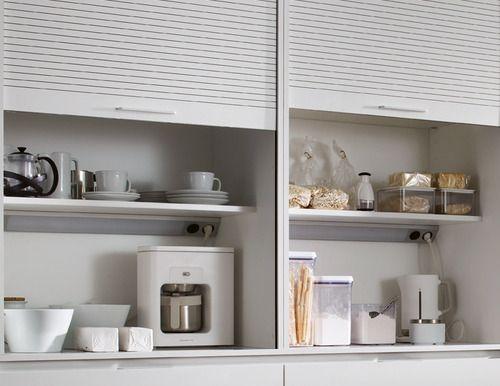 Módulo persianero para alimentos que no requieren frío o electrodomésticos de uso diario, listos para ser usados.