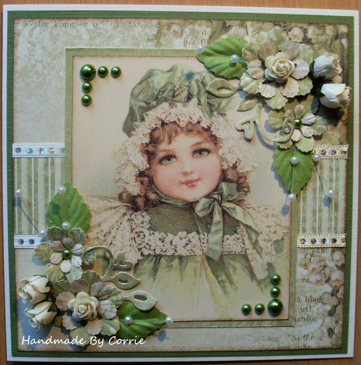 1000 images about vintage kaarten on pinterest design for Linge shabby chic