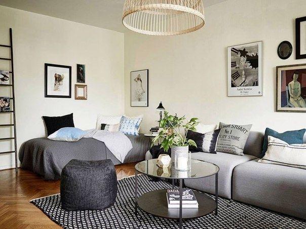 Интерьер квартиры 30 кв м - Дизайн интерьеров | Идеи вашего дома | Lodgers