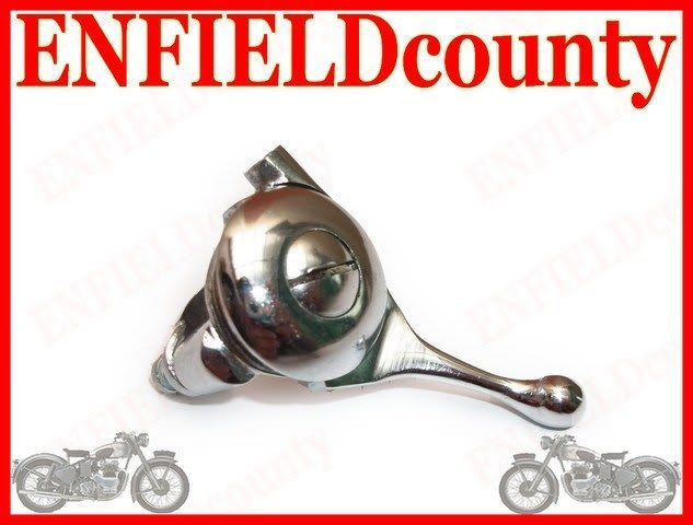 ROYAL ENFIELD EARLY CHROME PLATED DECOMPRESSOR LEVER