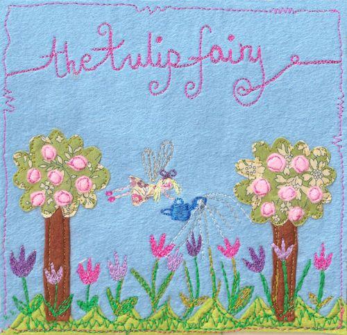 Laura Rose - The Tulip Fairy - Textiles