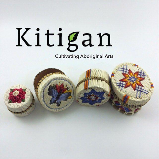 Quillwork at its finest. Visit kitigan.com. #quillwork #art #gallery #native…