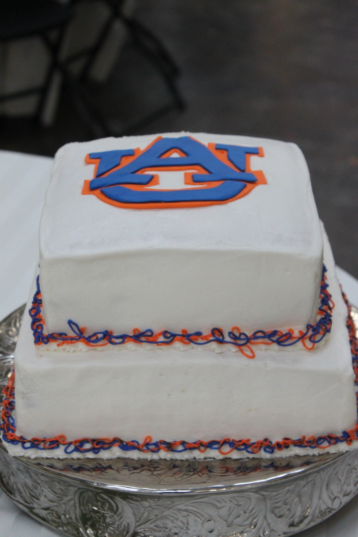 Grooms Cake - Auburn university