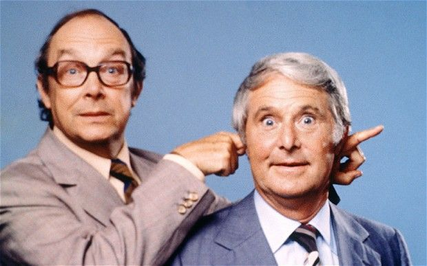 Morecambe and Wise make me happy #makesmehappy @White Stuff UK