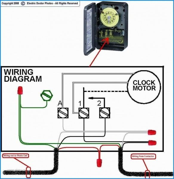 Photocell Wiring With Contactor Diagram Electricity Wire