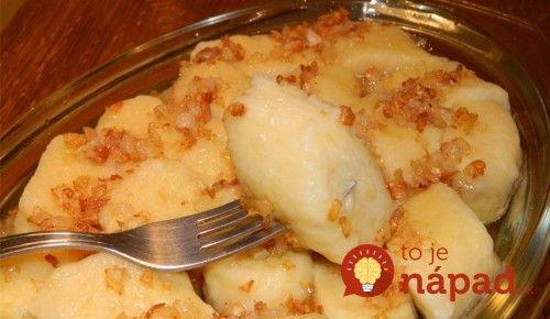 Najjednoduchšie a najlepšie zemiakové knedle s detskou krupicou!