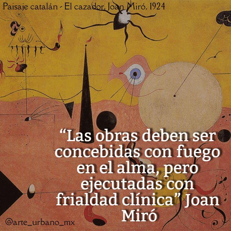 """Joan Miró fue un pintor, escultor, grabador y ceramista español, uno de los máximos representantes del surrealismo. """"Las obras deben ser concebidas con fuego en el alma, pero ejecutadas con frialdad clínica"""" Síguenos  Instagram: https://www.instagram.com/arte_urbano_mx  Facebook: https://www.facebook.com/arteurbanomx"""