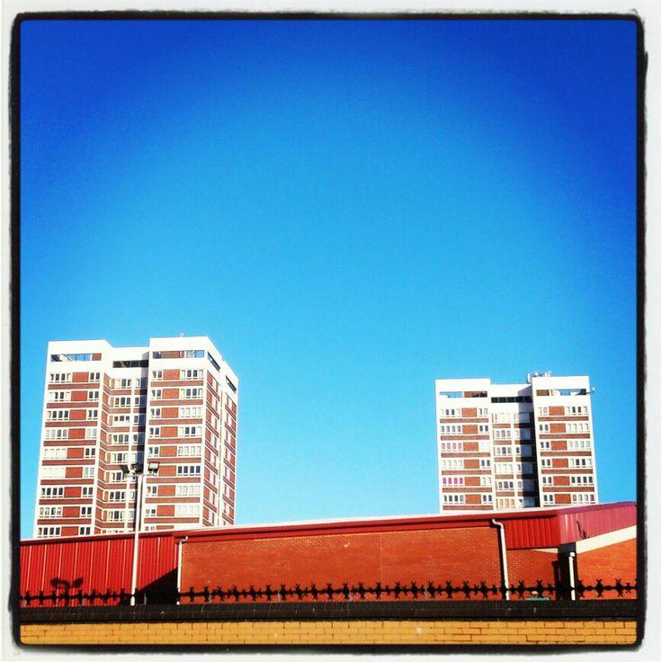 Vivid high-rise