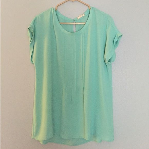 Pleione teal shirt Worn twice in great condition! Pleione Tops Blouses