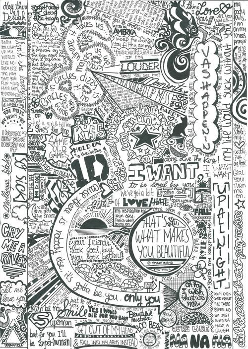 One Direction ♥ - One Direction Fan Art (27736799) - Fanpop fanclubs credit to whoever did this