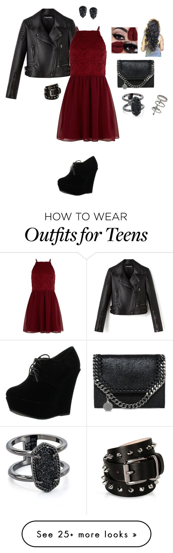"""""""first date's"""" by adancer4592 on Polyvore featuring New Look, Forever Link, STELLA McCARTNEY, Kendra Scott, Miss Selfridge, Barbara Bui and Tarina Tarantino"""