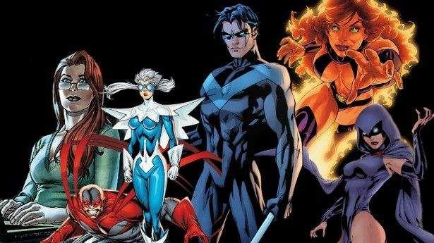 """A série live-action da TNT agora é oficialmente """"The Titans"""" (Os Titãs), e seu piloto está prestes a ser gravado. No entantoo site The Nerdist conseguiu confirmar quais são os membros da equipe! A grande novidade é o fato de quatro dos seis integrantes serem personagens femininos, algo inédito no mundo dos super-heróis, que costuma …"""