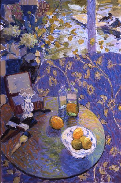유 Still Life Brushstrokes 유 Nature Morte Paintings - Still Life with Bowl of Lemons - Hugo Grenville