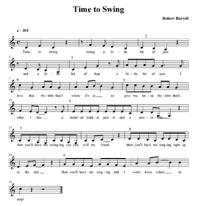 7 Free rounds and canons by Robert Burrell. (Found in Downloads - Classroom Resources - Song Repertoire). While you're there, sign up for the free newsletter!