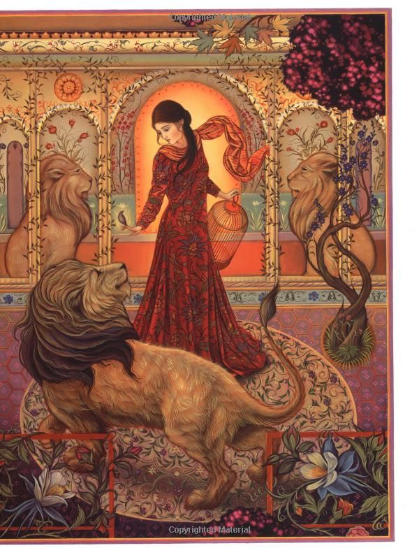 The Lady and the Lion: A Brothers Grimm Tale: Jacqueline K. Ogburn, Laurel Long: 9780803726512: Amazon.com: Books